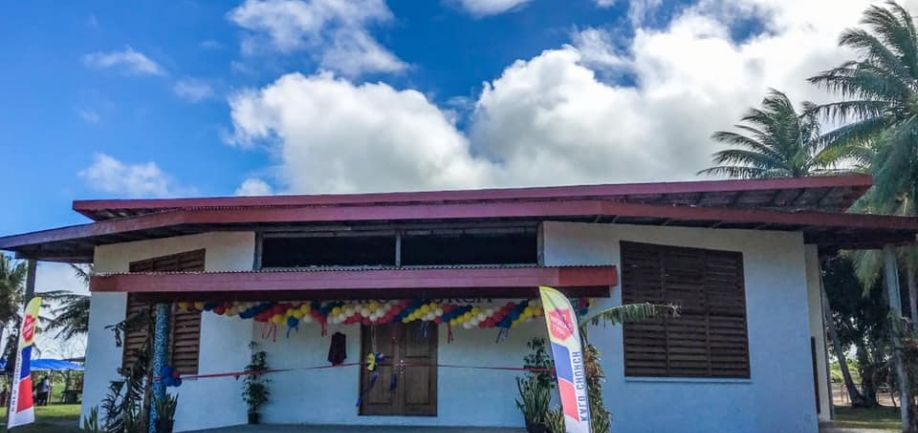 Kalo Church opens New Building