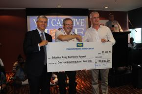 Steamships donates to RSA