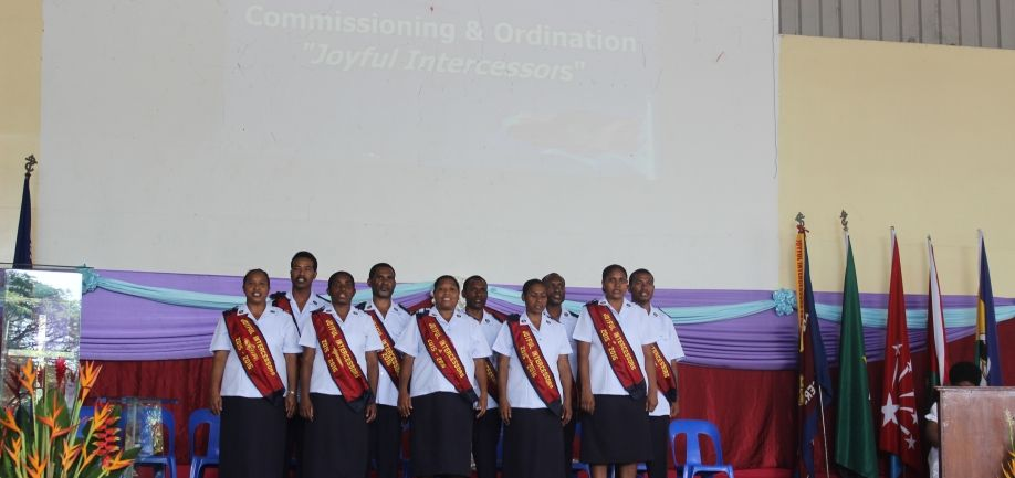 Joyful Intercessors commissioned