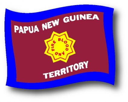PNG Salvation Army Flag